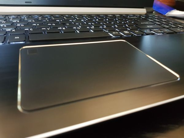 Acer Aspire 7 trackpad