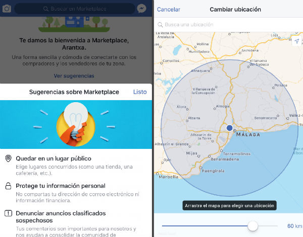 Facebook Marketplace seguridad