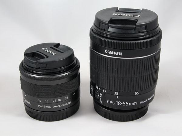 hemos demostrado Canon EOS M6 objetivos comparativa