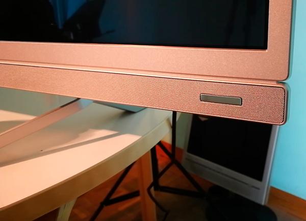 hemos demostrado Philips 55PUS6482 barra de sonido