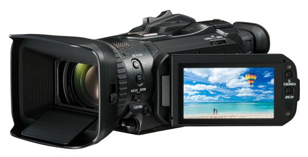 lanzamiento Canon LEGRIA GX10 diseño compacto