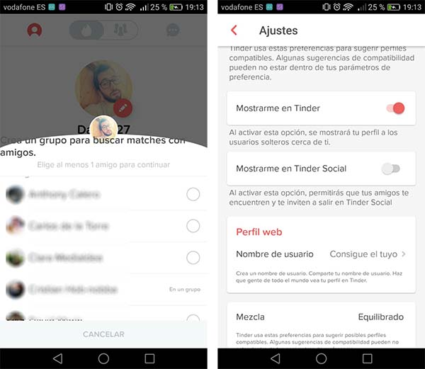 Un complemento de Chrome℗ usa tu cuenta de Tinder(app) para rastrear amigos en Facebook