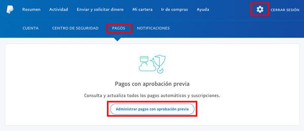 20 preguntas y contestación PayPal pagos con aprobación previa
