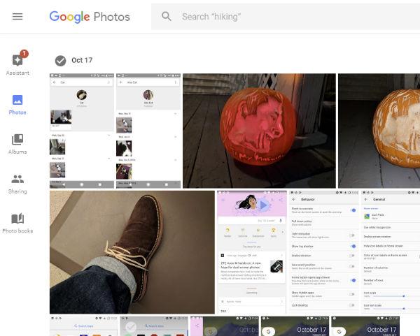 Google Fotos problemas