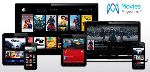 Movies Anywhere, pelis a la carta en iPhone, Android y PC