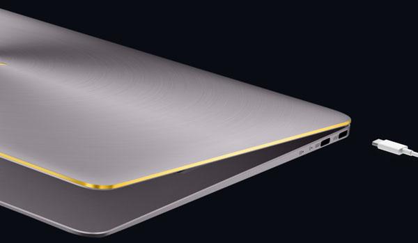 a fondo Asus ZenBook tres Deluxe carga rápida