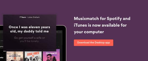 cómo ver letra de canción Spotify descargar app