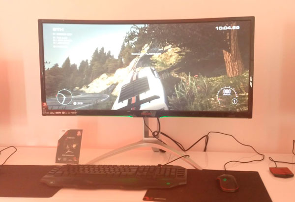 nuevos monitores de Philips℗ y AOC℗ monitor gaming AOC℗ panoramico