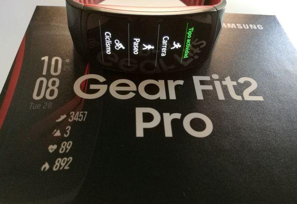 samsung gear fit2 pro caja