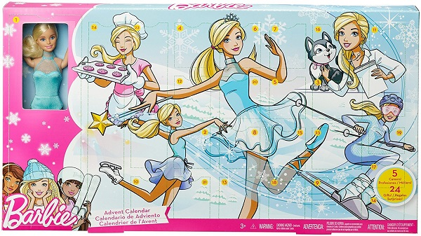 calendario adviento barbie