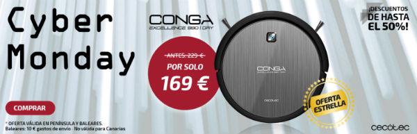 Robot aspiradora Conga Excellence 990