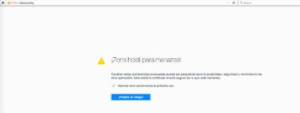 Firefox velocidad
