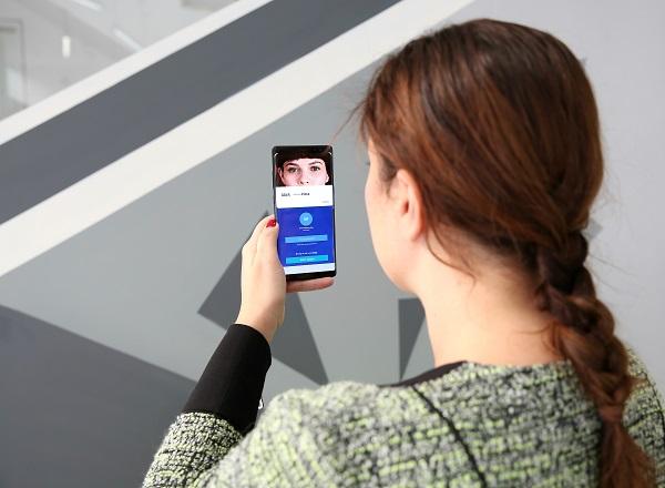 Cómo acceder a la banca online de BBVA con la detección de iris