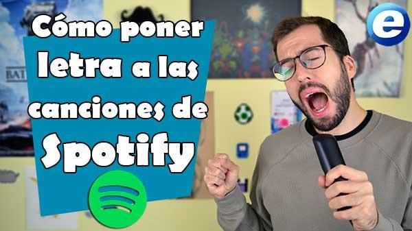 Así puedes colocar letra a las canciones de Spotify