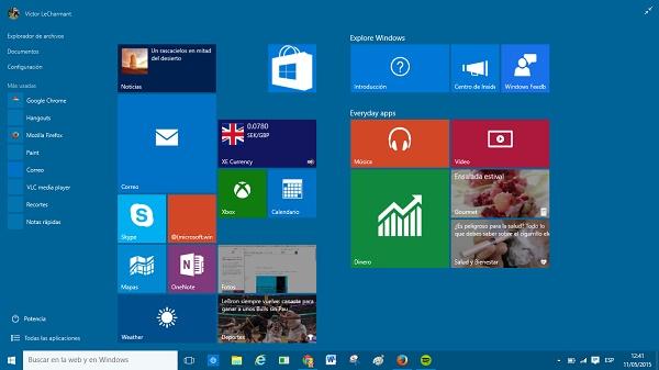 windows diez microsoft actualizar