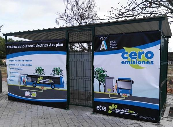 Madrid estrena autobuses eléctricos con carga por inducción