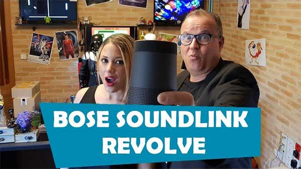 Así es el Bose SoundLink Revolve, te lo contamos en vídeo