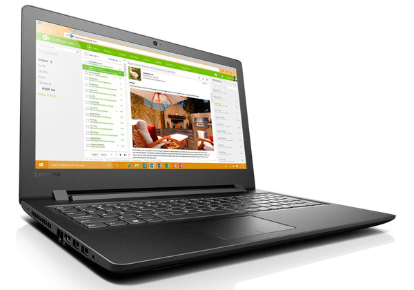 Lenovo Ideapad 110, portátil de 15 pulgadas por 200 euros(EUR) en Amazon