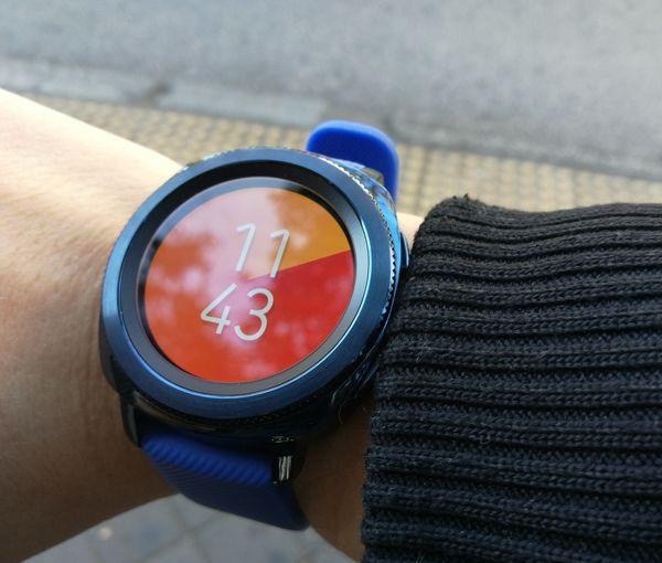 samsung gear sport reloj