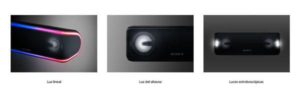 nuevo Sony℗ SRS-XB41 luces