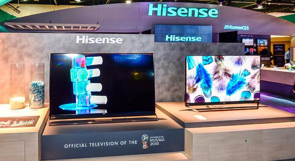 Nuevos televisores de Hisense, más brillantes y con el Asistente de Google