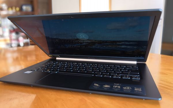 Acer Swift 5 pantalla