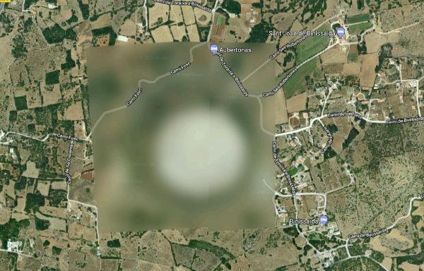 Google Maps zona militar