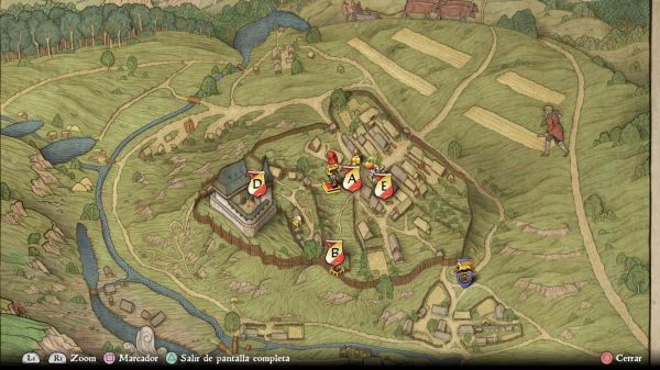 Kingdom Come Deliverance mapa