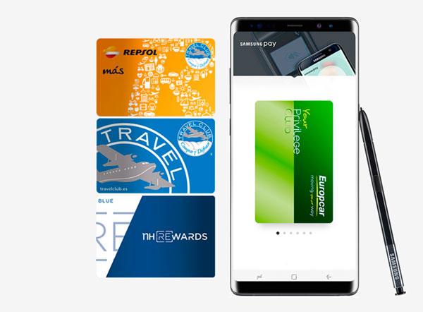 apertura Samsung Pay Land