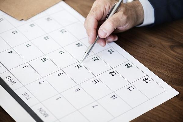 Calendario de vacaciones 2018, más de 100 plantillas para descargar e imprimir
