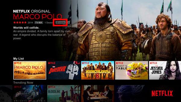 qué es HDR Dolby Vision Netflix