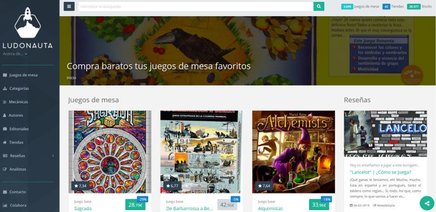 Donde comprar juegos de mesa online - Ludonauta