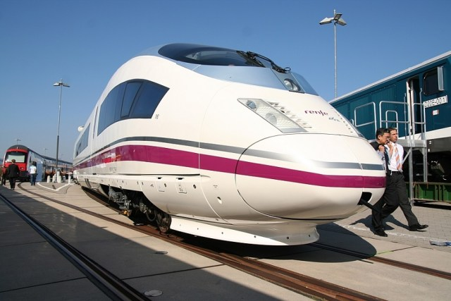 Siemens Velaro E de la Serie 103 de Renfe
