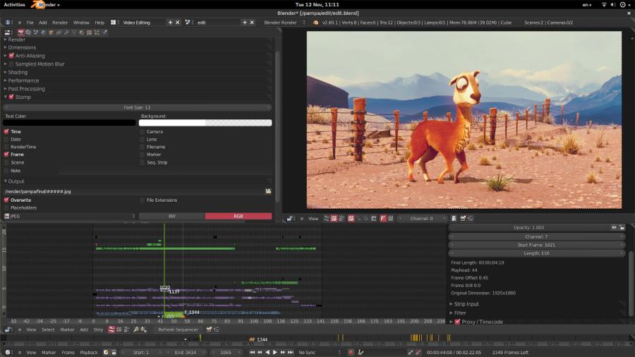 Programas de edicion de video gratis – Blender