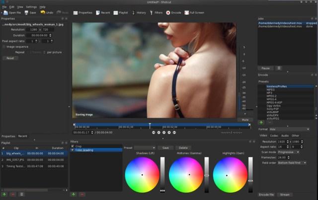 Programas de edicion de video gratis(free) – Shotcut