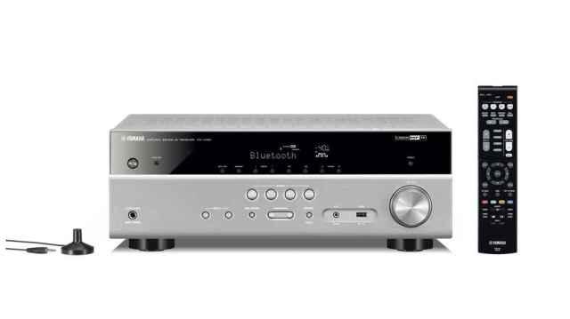 Yamaha RX-D485, el cine en casa ahora sin cables y con radio DAB