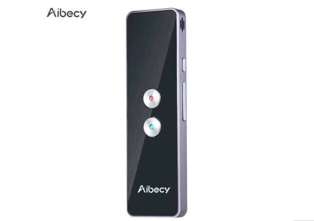 Aibecy Translator, un traductor portátil para viajes, compras y trabajo