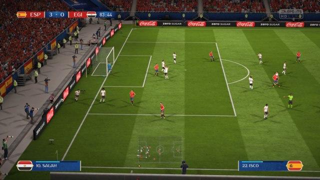 Cómo descargar y jugar al Mundial de Rusia(país) en FIFA 18 partido