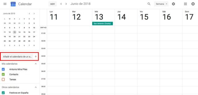 cómo agregar partidos del Mundial de Rusia(país) 2018 al calendario de google website calendario google