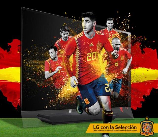LG OLED, televisores pensados para visualizar el fútbol como nunca