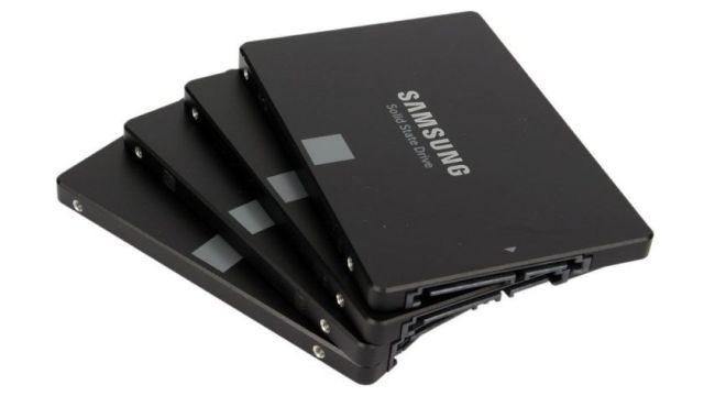 varias tarjetas ssd de samsung 860 evo