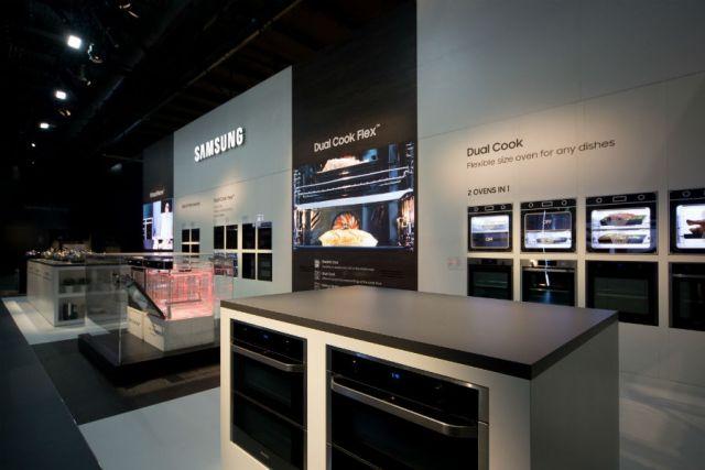 Samsung Dual Cook Flex, horno que permite preparar dos platos al mismo tiempo