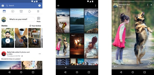 Facebook actualiza las Stories con audios y archivos