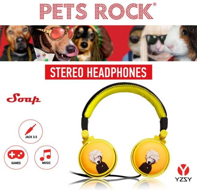 auriculares YZSY pets rock