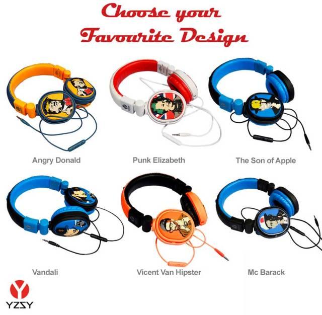 auriculares YZSY TVBoy