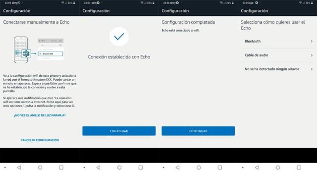 hemos probado Amazon℗ Echo con Alexa conectar Echo