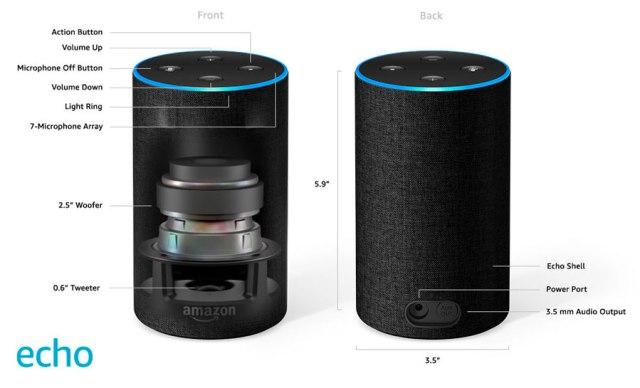 hemos probado Amazon℗ Echo con Alexa sonido