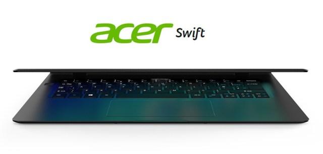 5 mejorías de los portátiles Acer℗ Swift