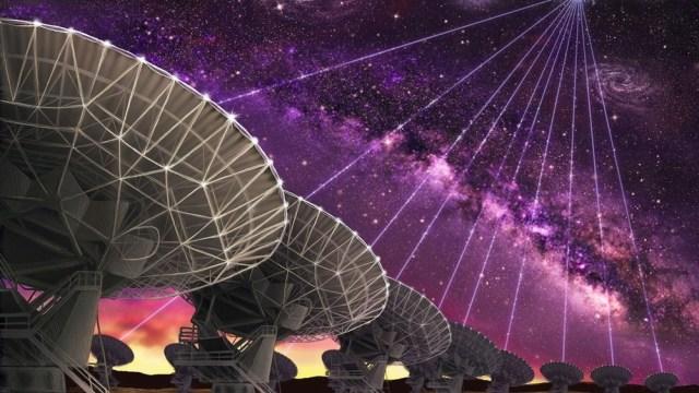 Nuevas señales de radio del espacio podrían proceder de naves alienígenas