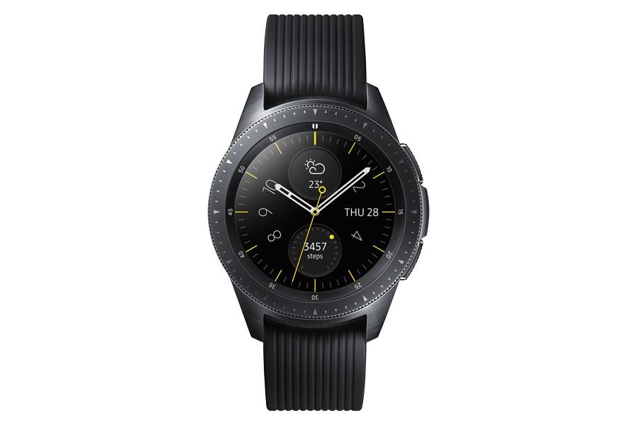 lanzamiento Samsung Galaxy Watch negro frontal
